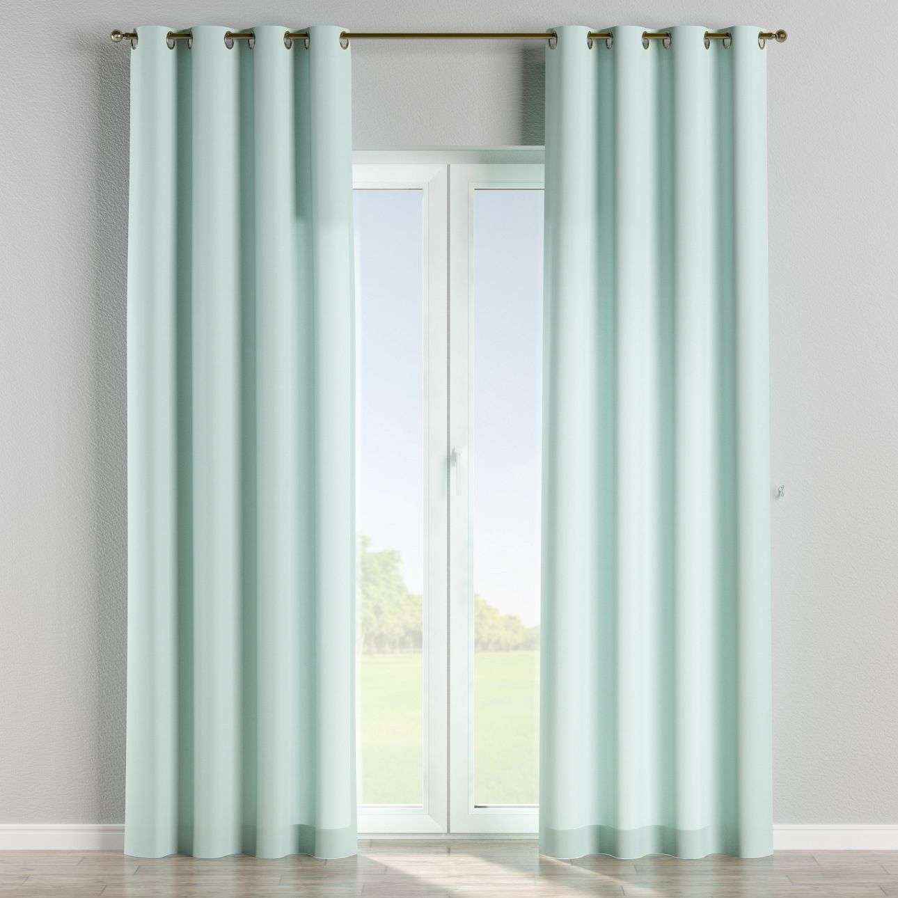 Eyelet curtains 130 x 260 cm (51 x 102 inch) in collection Cotton Panama, fabric: 702-10