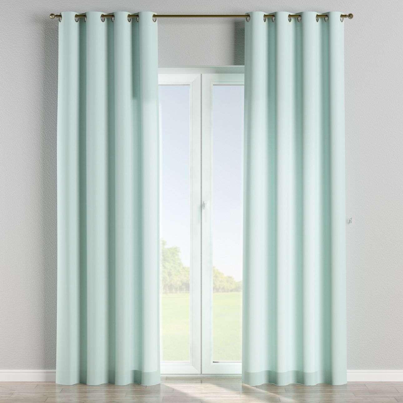 Zasłona na kółkach 1 szt. 1szt 130x260 cm w kolekcji Cotton Panama, tkanina: 702-10
