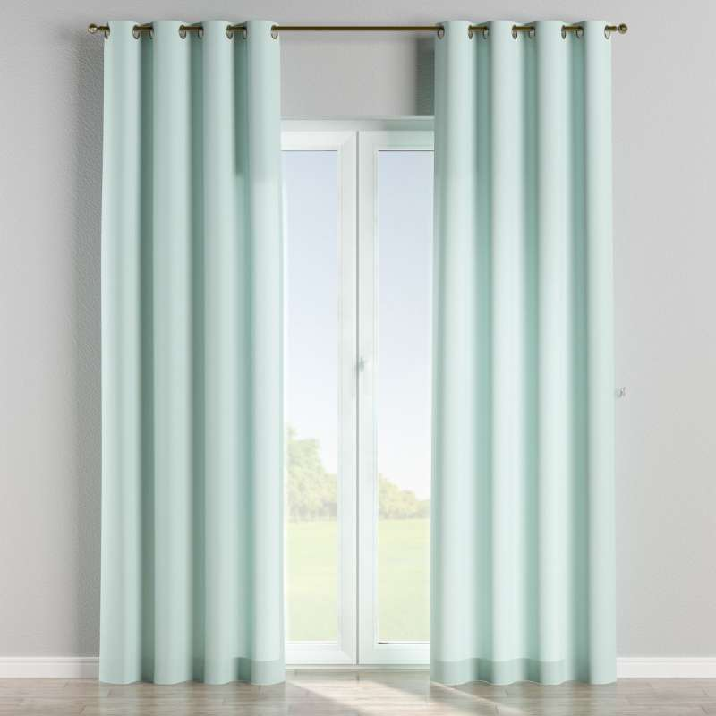 Gardin med öljetter 1 längd i kollektionen Panama Cotton, Tyg: 702-10