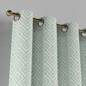 Eyelet curtains in collection Geometric, fabric: 141-45