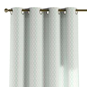 Eyelet curtains 130 x 260 cm (51 x 102 inch) in collection Geometric, fabric: 141-47