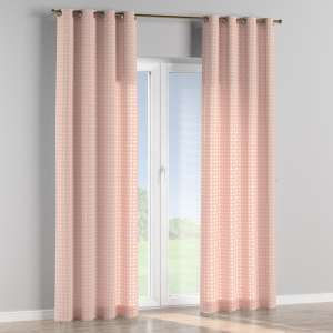 Eyelet curtains 130 x 260 cm (51 x 102 inch) in collection Geometric, fabric: 141-48