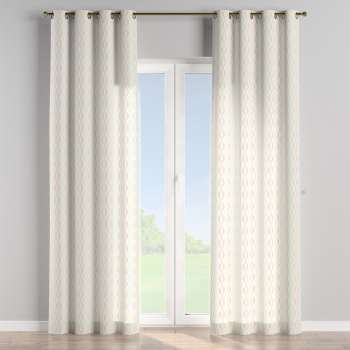 Eyelet curtains in collection Geometric, fabric: 141-49