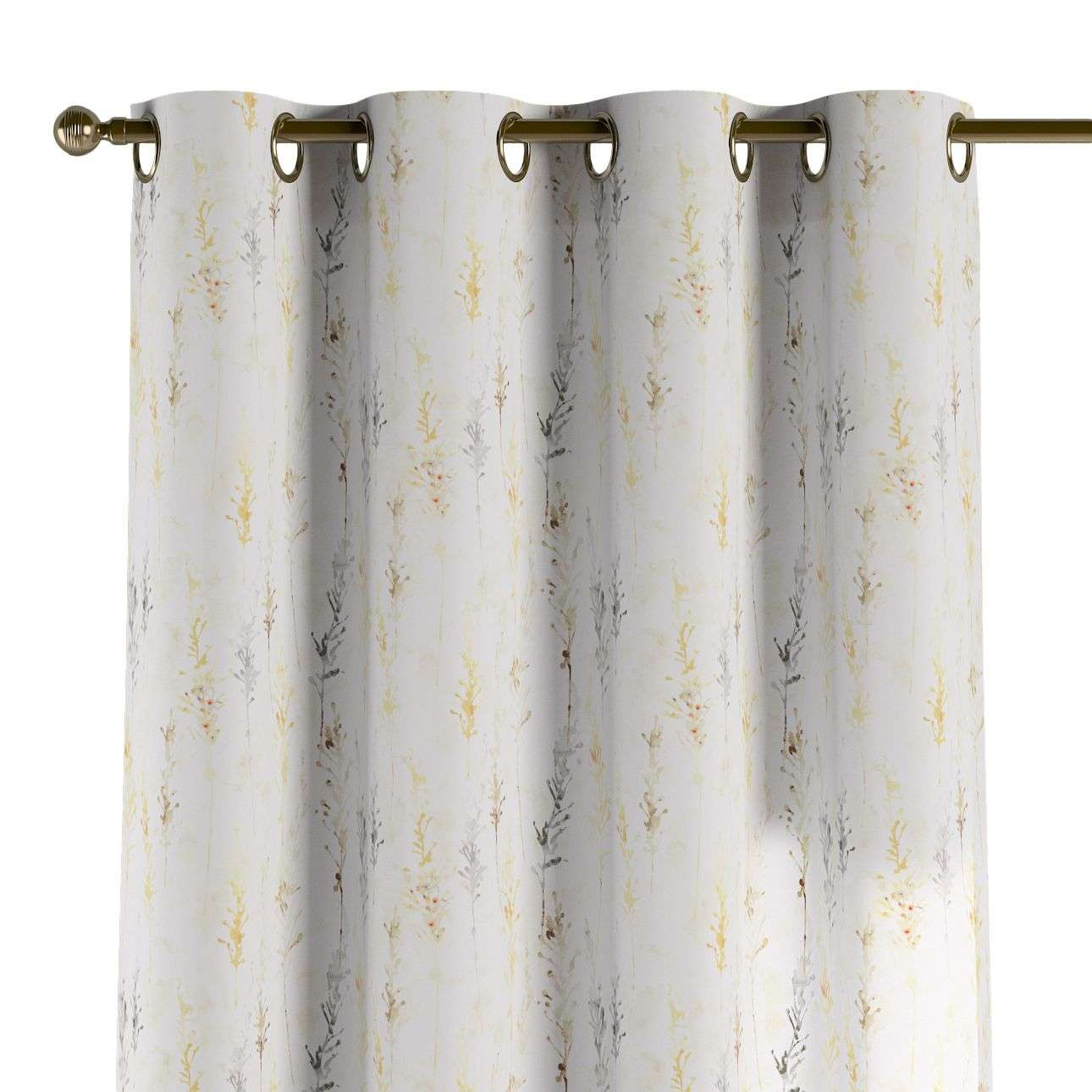 Eyelet curtains in collection Acapulco, fabric: 141-36