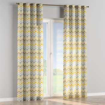 Eyelet curtains 130 x 260 cm (51 x 102 inch) in collection Acapulco, fabric: 141-39