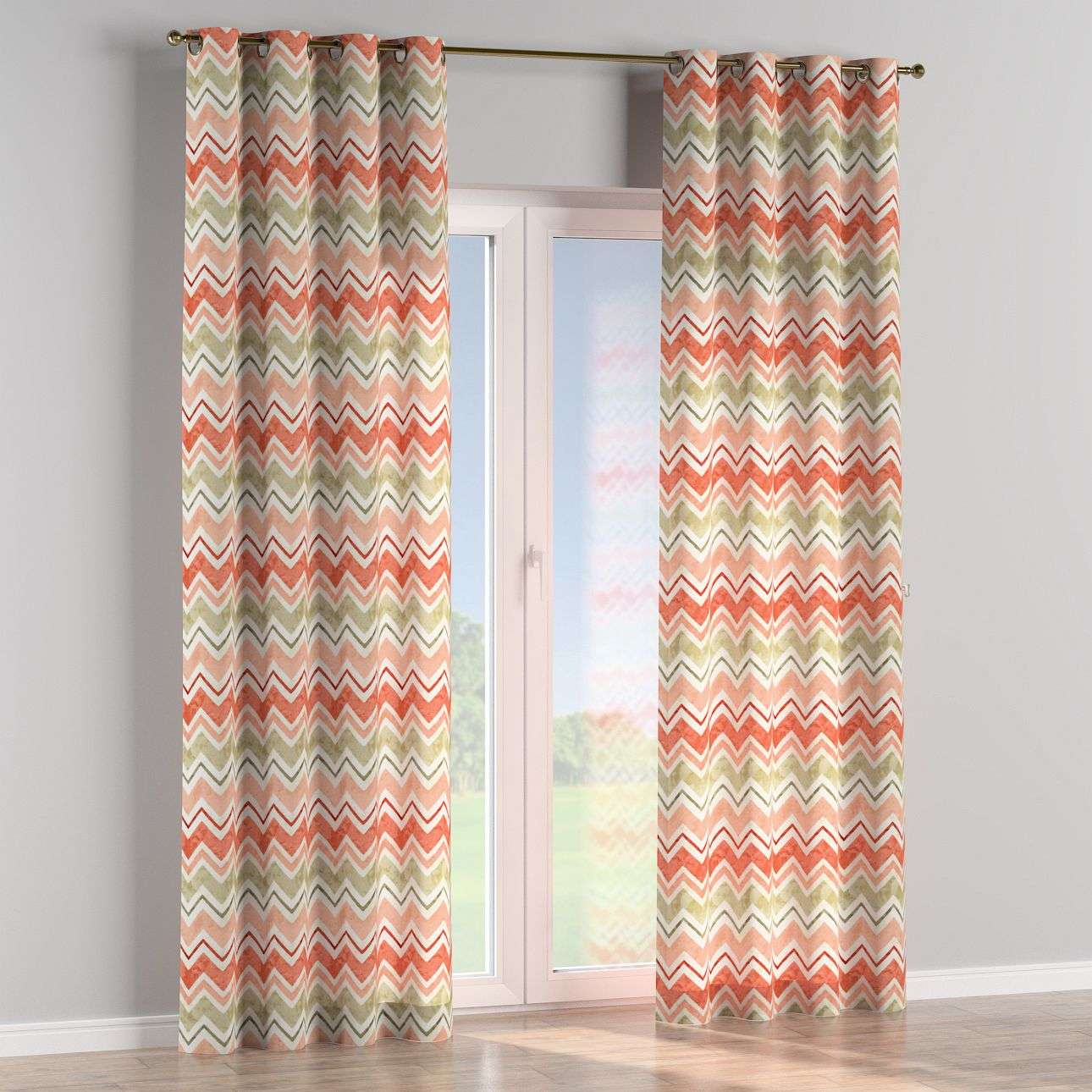 Eyelet curtains in collection Acapulco, fabric: 141-40