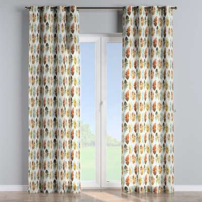 Eyelet curtains in collection Tropical Island, fabric: 141-43
