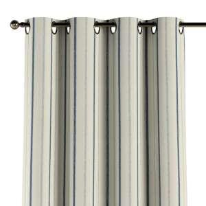 Gardin med öljetter 1 längd 130 x 260 cm i kollektionen Avinon, Tyg: 129-66