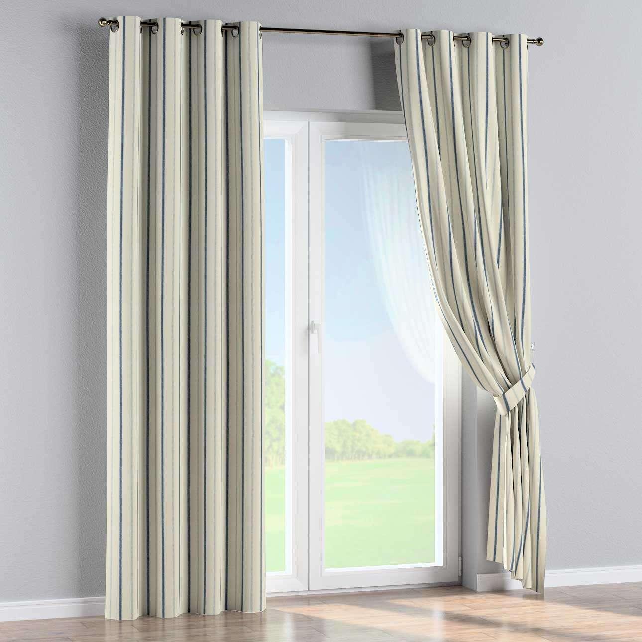 Ringlis függöny 130 x 260 cm a kollekcióból Lakástextil Avinon, Dekoranyag: 129-66
