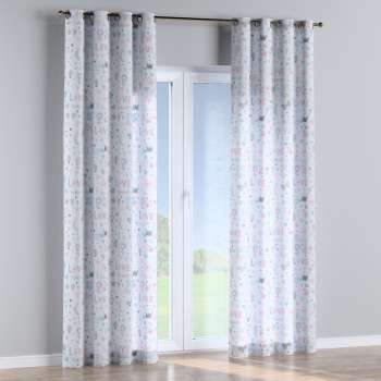 Eyelet curtains 130 × 260 cm (51 × 102 inch) in collection Little World, fabric: 141-27