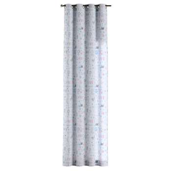 Eyelet curtains 130 x 260 cm (51 x 102 inch) in collection Little World, fabric: 141-27