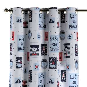 Eyelet curtains 130 x 260 cm (51 x 102 inch) in collection Little World, fabric: 141-29