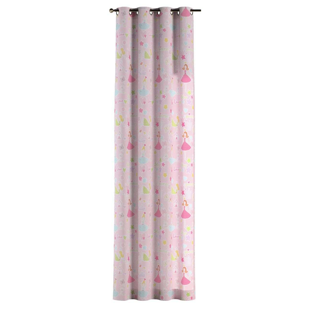 Eyelet curtains 130 x 260 cm (51 x 102 inch) in collection Little World, fabric: 141-50