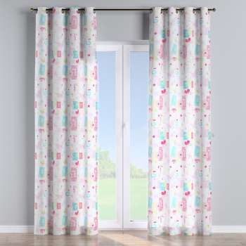 Eyelet curtains 130 x 260 cm (51 x 102 inch) in collection Little World, fabric: 141-51