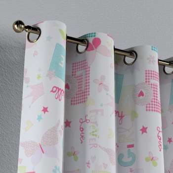 Eyelet curtains 130 × 260 cm (51 × 102 inch) in collection Little World, fabric: 141-51