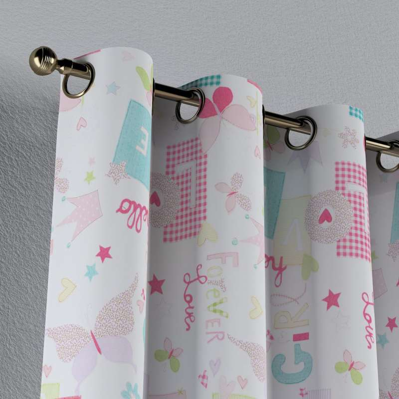 Eyelet curtain in collection Little World, fabric: 141-51