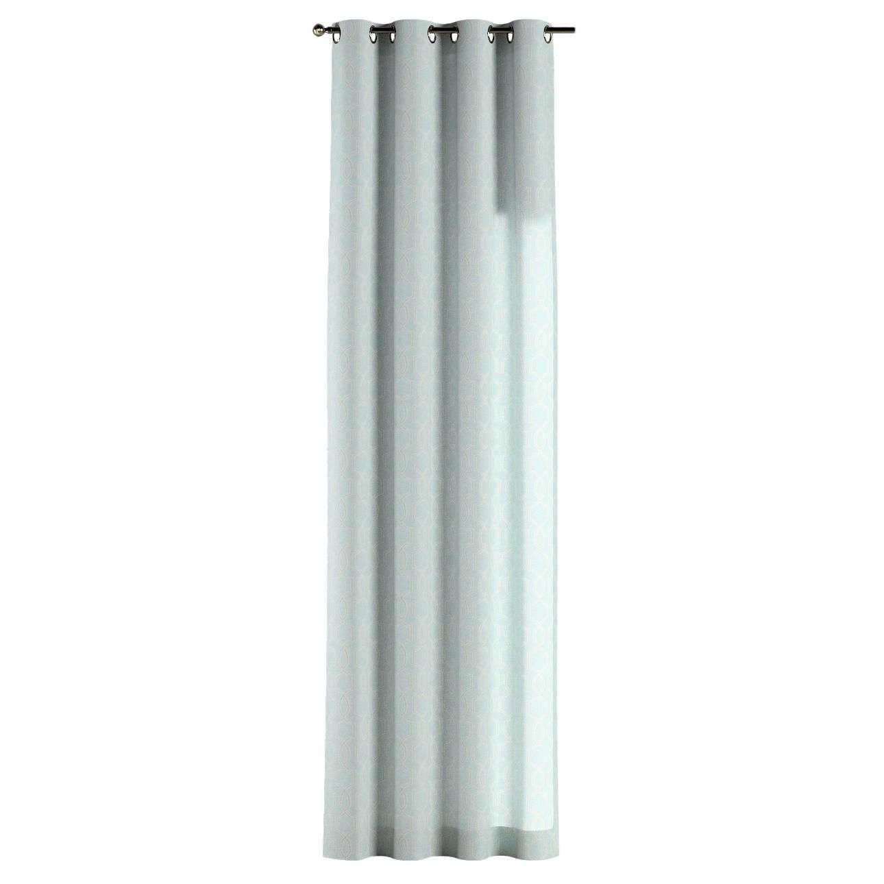 Gardin med öljetter 1 längd 130 x 260 cm i kollektionen Comics , Tyg: 141-24