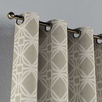 Eyelet curtains 130 × 260 cm (51 × 102 inch) in collection Comics/Geometrical, fabric: 141-56