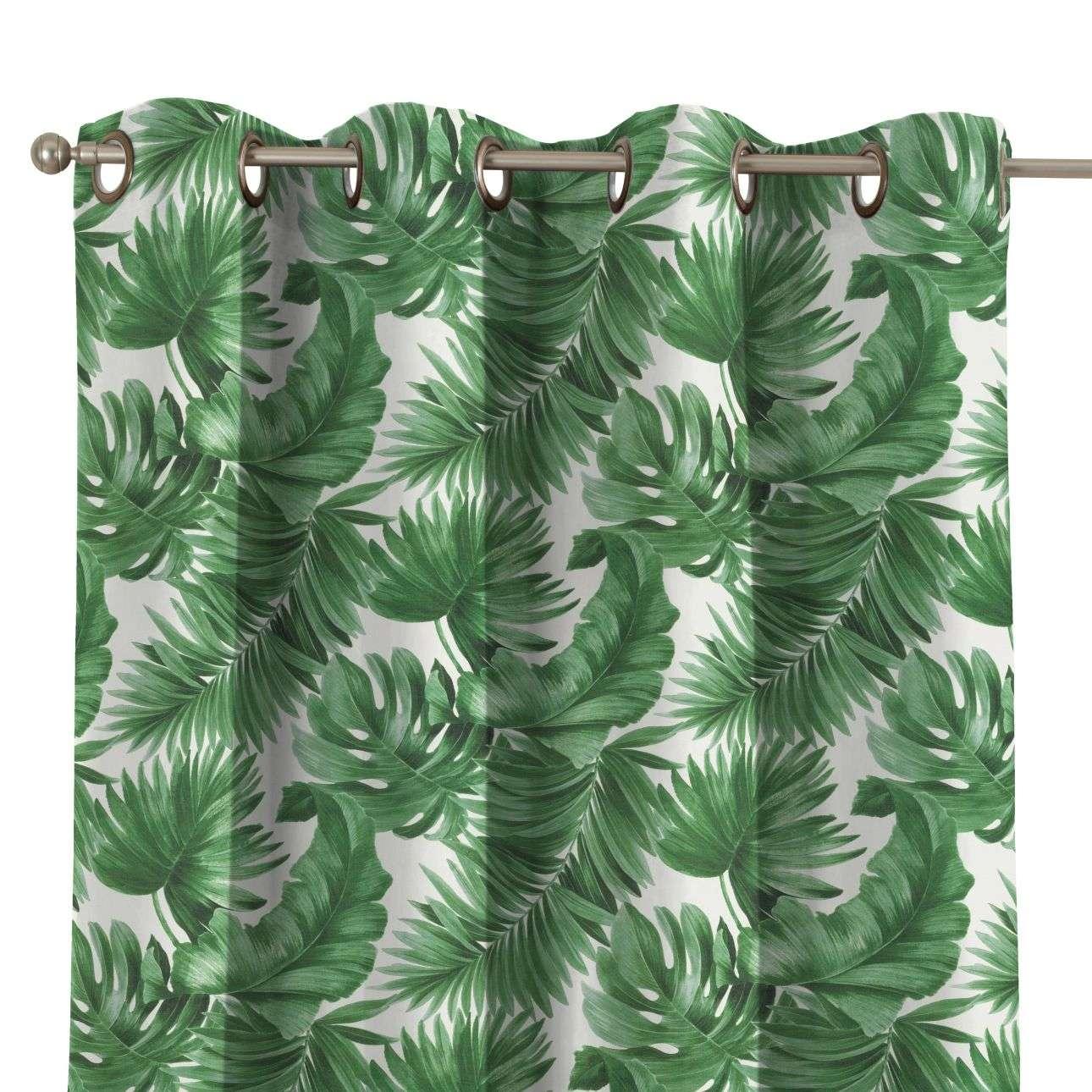 Zasłona na kółkach 1 szt. w kolekcji Urban Jungle, tkanina: 141-71