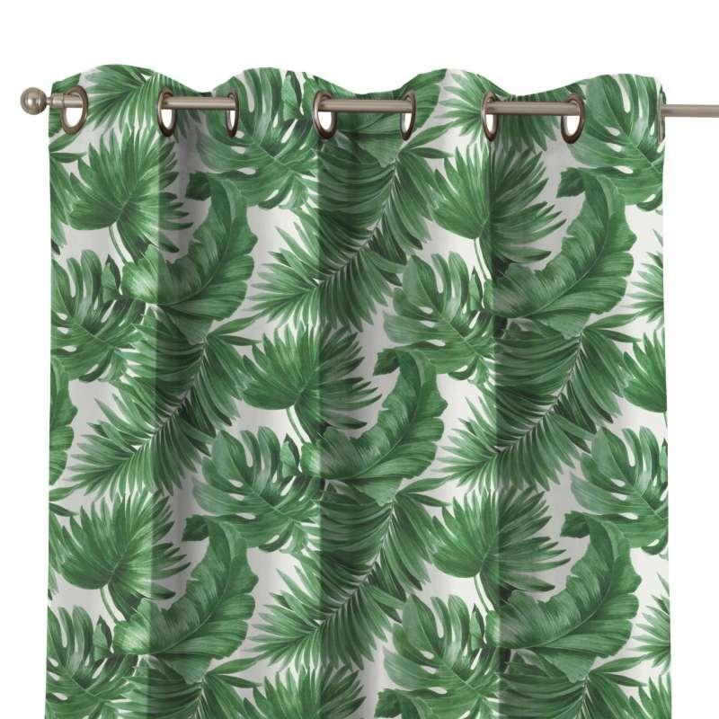 Záves s kolieskami V kolekcii Tropical Island, tkanina: 141-71