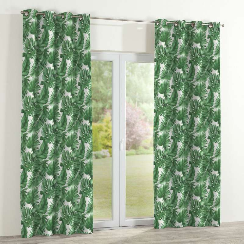 Eyelet curtain in collection Tropical Island, fabric: 141-71
