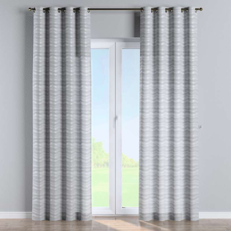 Eyelet curtain in collection Damasco, fabric: 141-72