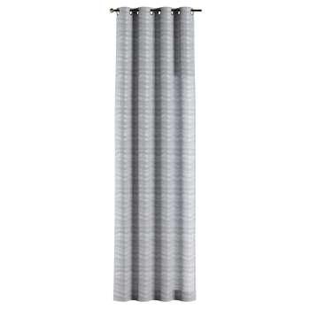 Gardin med öljetter 1 längd 130 × 260 cm i kollektionen Damasco, Tyg: 141-72