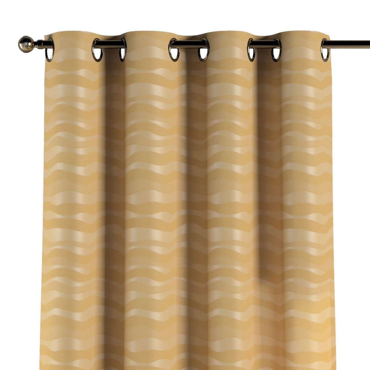 Eyelet curtains in collection Damasco, fabric: 141-74