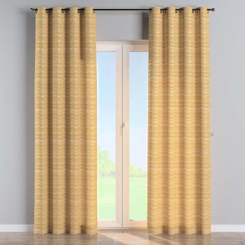 Eyelet curtain in collection Damasco, fabric: 141-74