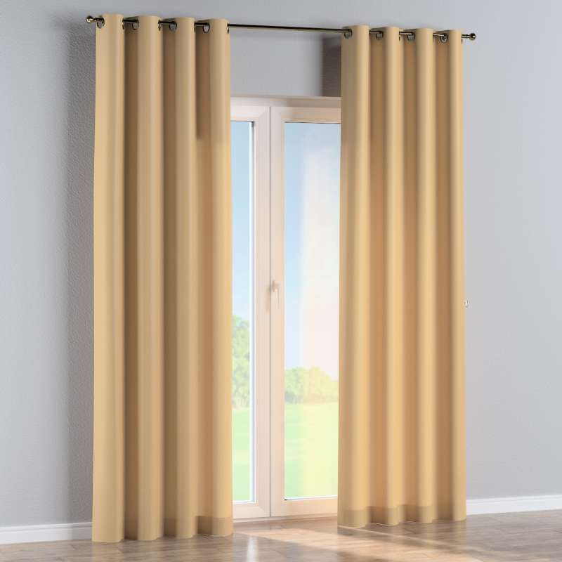 Eyelet curtain in collection Damasco, fabric: 141-75