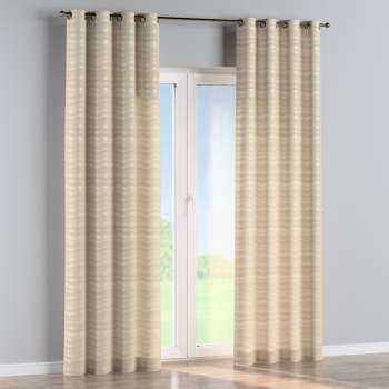 Eyelet curtains in collection Damasco, fabric: 141-76