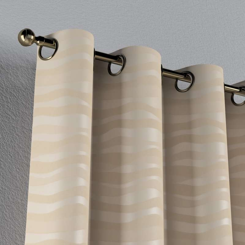 Eyelet curtain in collection Damasco, fabric: 141-76