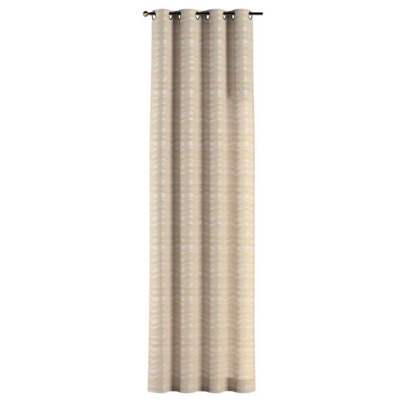 Zasłona na kółkach 1 szt. w kolekcji Damasco, tkanina: 141-76
