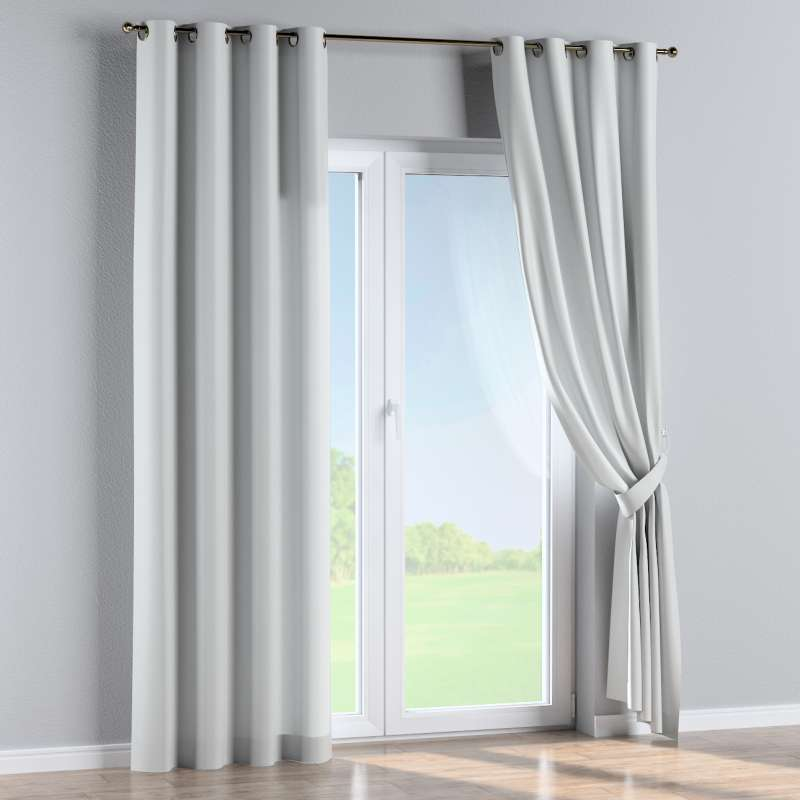 Eyelet curtain in collection Damasco, fabric: 141-77