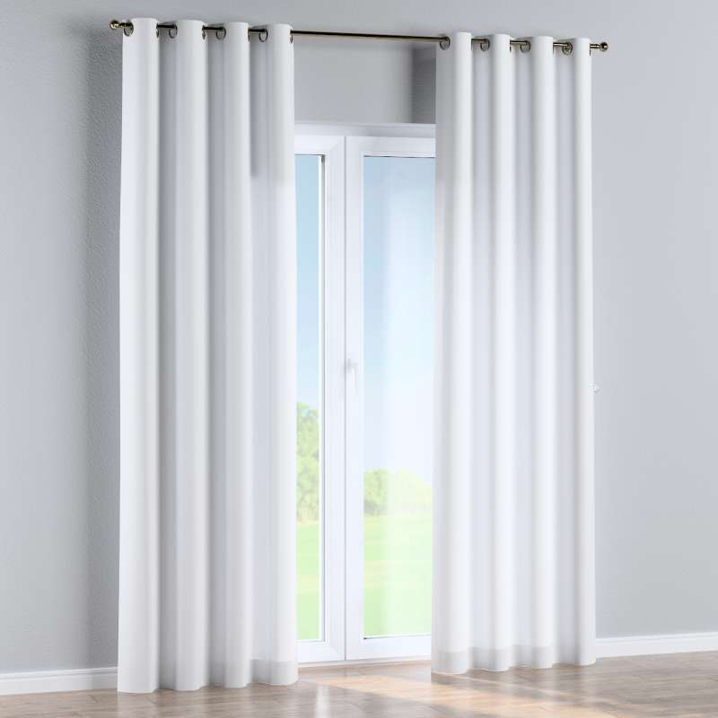 Eyelet curtain in collection Damasco, fabric: 141-78