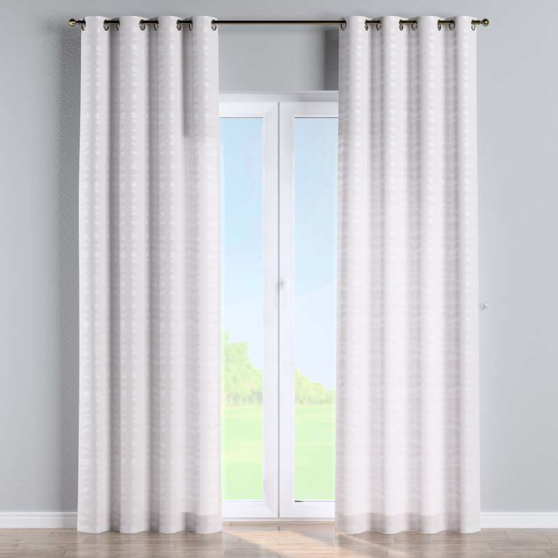 Eyelet curtain in collection Damasco, fabric: 141-87