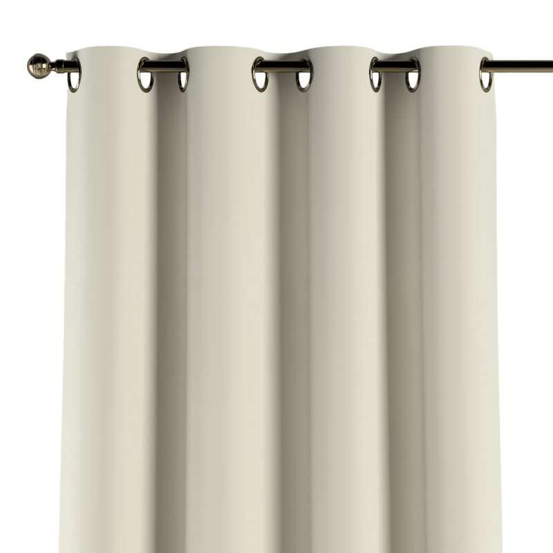 Gardin med öljetter 1 längd i kollektionen Velvet, Tyg: 704-10