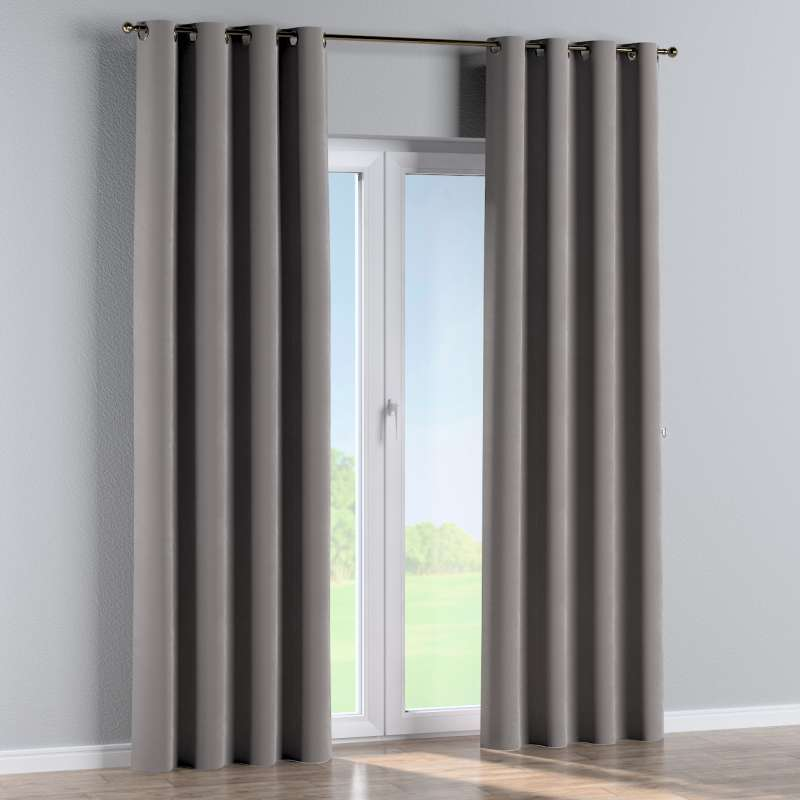 Eyelet curtain in collection Velvet, fabric: 704-11