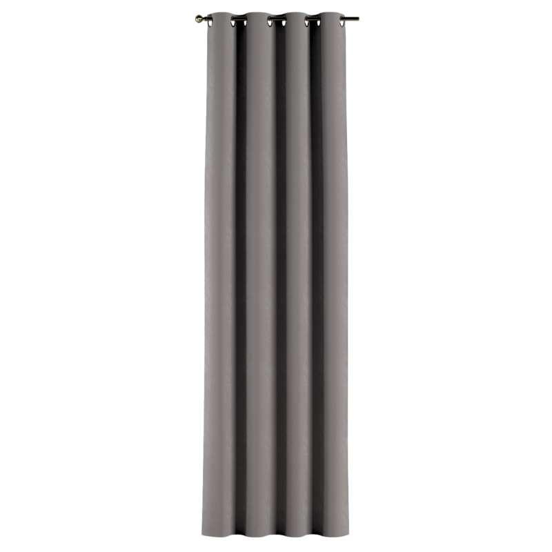 Gardin med öljetter 1 längd i kollektionen Velvet, Tyg: 704-11
