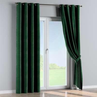 Eyelet curtains in collection Velvet, fabric: 704-13