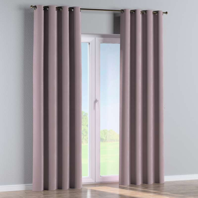 Eyelet curtain in collection Velvet, fabric: 704-14