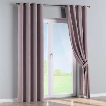 Eyelet curtains 130 × 260 cm (51 × 102 inch) in collection Velvet, fabric: 704-14