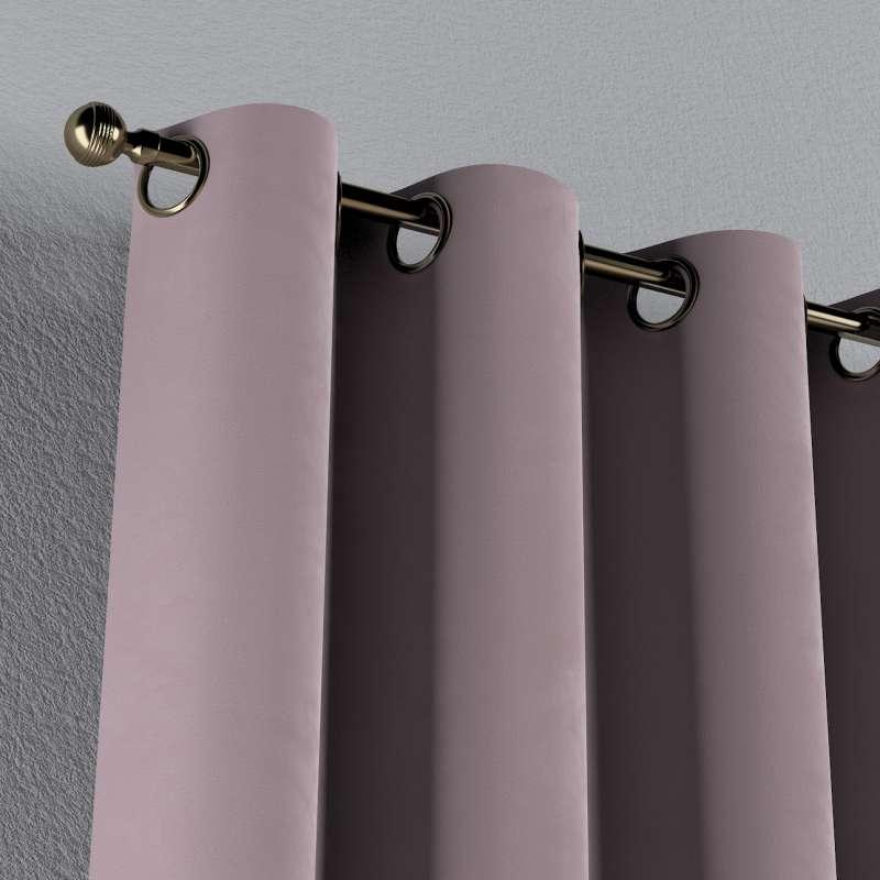 Gardin med öljetter 1 längd i kollektionen Velvet, Tyg: 704-14