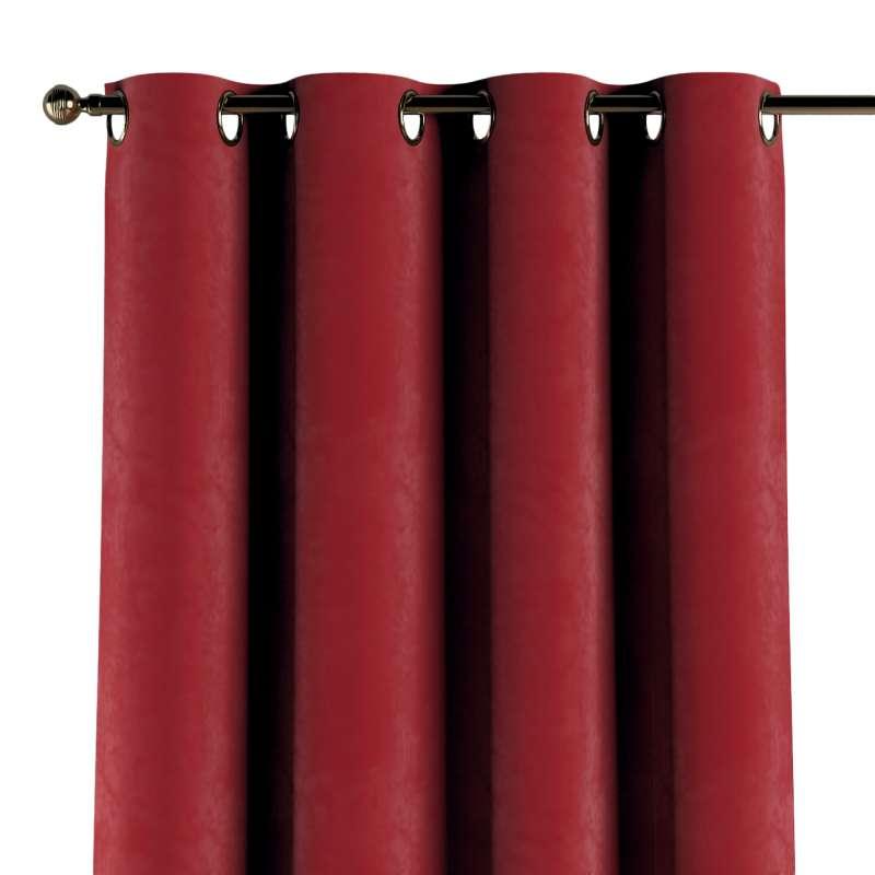 Verho purjerenkailla mallistosta Velvet, Kangas: 704-15