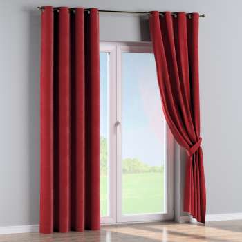 Eyelet curtains in collection Velvet, fabric: 704-15