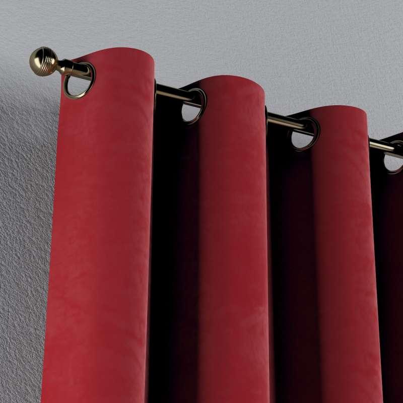 Zasłona na kółkach 1 szt. w kolekcji Velvet, tkanina: 704-15