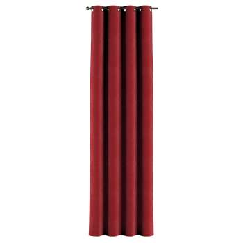 Eyelet curtains 130 × 260 cm (51 × 102 inch) in collection Velvet, fabric: 704-15