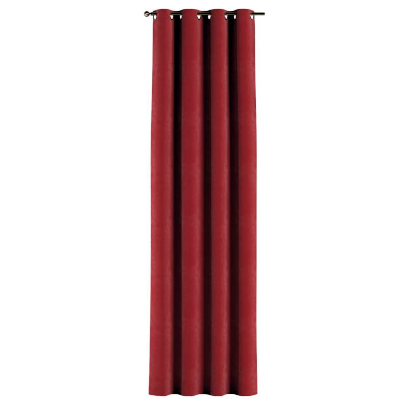 Eyelet curtain in collection Velvet, fabric: 704-15