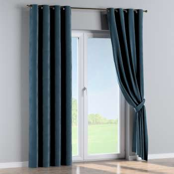 Eyelet curtains in collection Velvet, fabric: 704-16