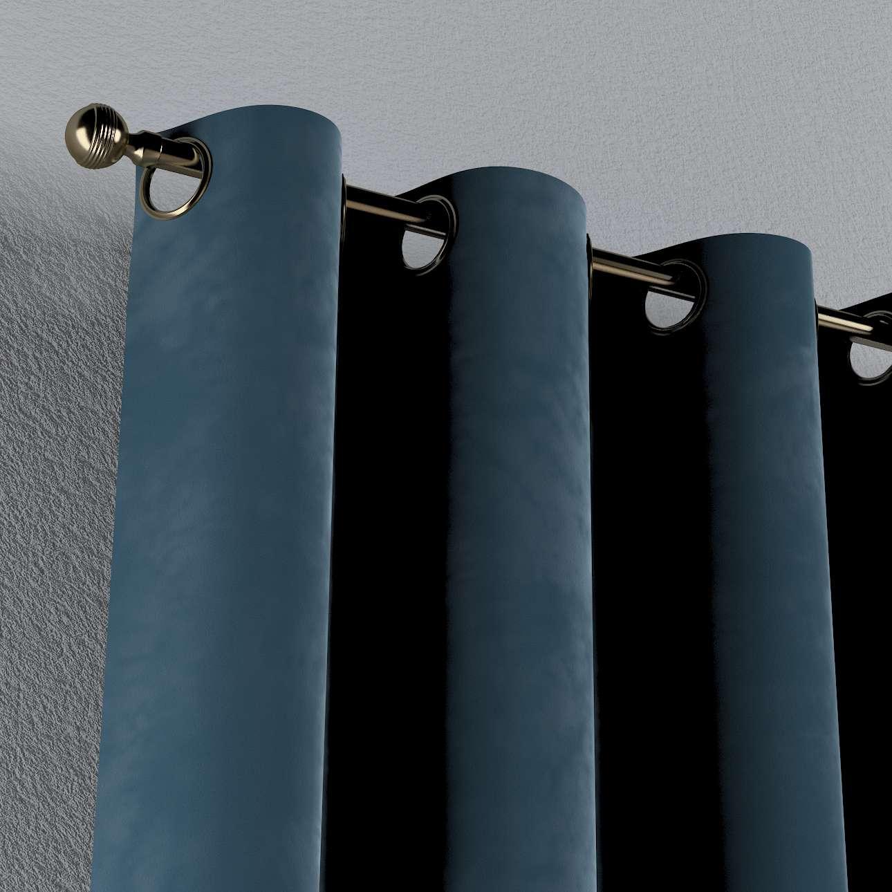 Zasłona na kółkach 1 szt. w kolekcji Velvet, tkanina: 704-16